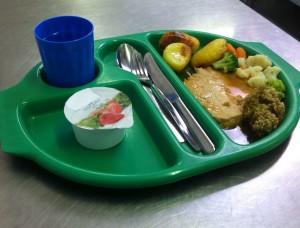 What does a dietitians son eat?